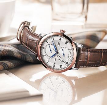 时尚简约皮带防水石英手表