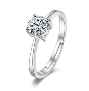 铂金结婚戒指钻戒求婚