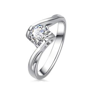 天使之吻18K金钻石戒指